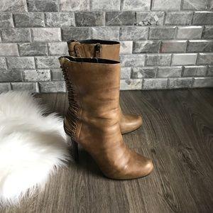 Cole Haan X Maria Sharpova tan leather boots 6